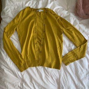 LOFT sz m button down sweater